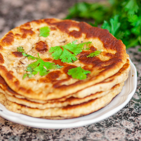 The Best Recipe! Homemade Naan Bread
