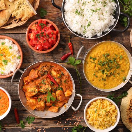 My Home's Indian Menu