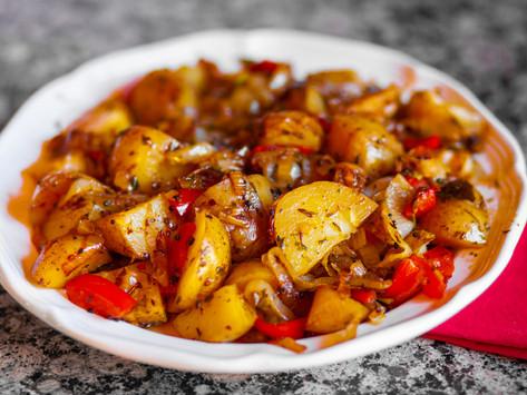 Spicy Balti Potatoes