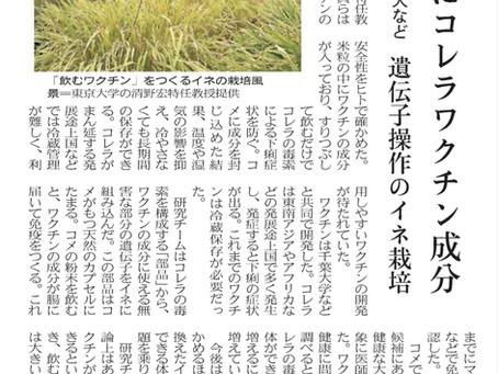 当社ファウンダーによるムコライスが日本経済新聞に紹介されました