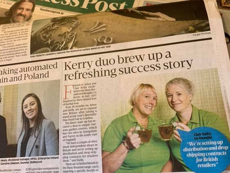 Kerry duo brew up a refreshing success story!