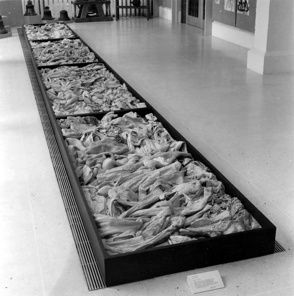 The Nuclear Family in the group exhibition, Gathering Rites, Pitt Rivers Museum, Oxford, 1988