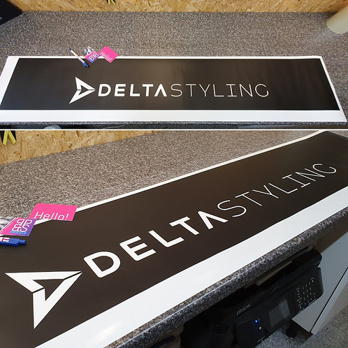 """Sun Strip - """"Delta Styling"""" Cut Out"""