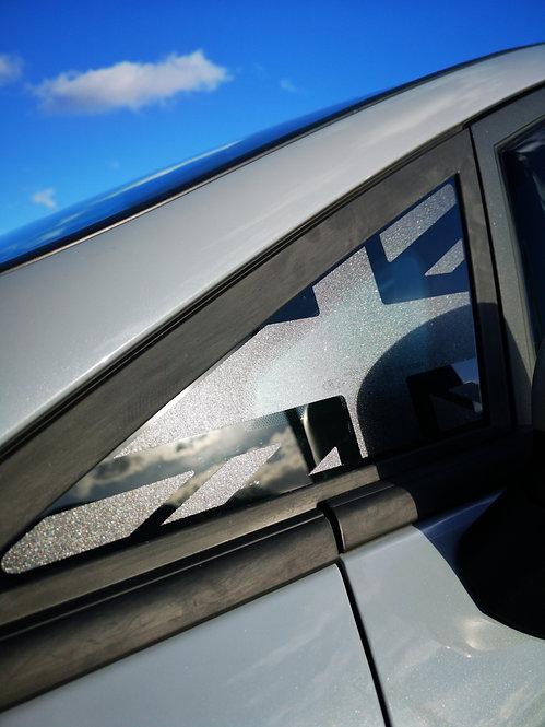 Mk8 Fiesta Union Jack Window Vinyl Decal