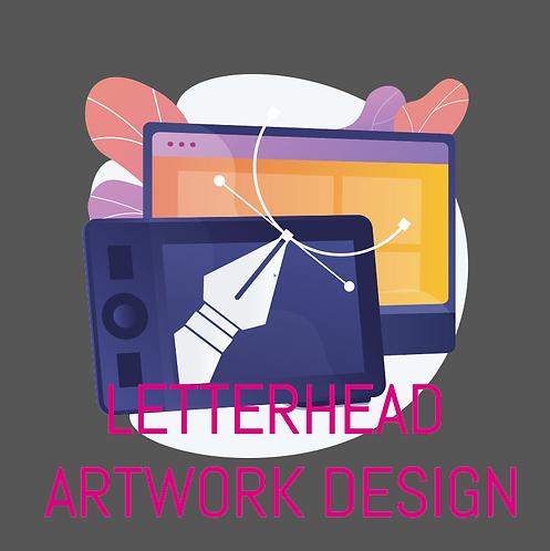 Letterhead Artwork Design
