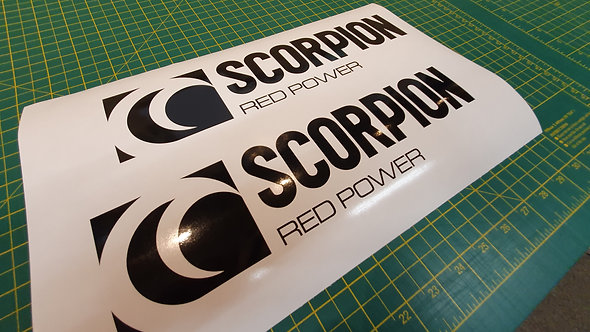 Scorpion Exhausts Decals