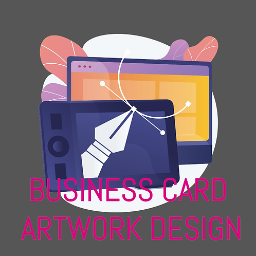 Business Card Artwork Design