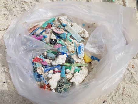 Plastik spolerer enestående naturområder