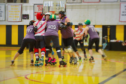 Fight for Lead Jammer