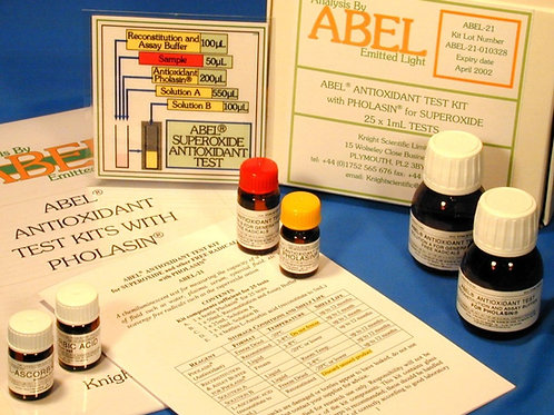 Antioxidant Test Kits Using Superoxide And Other Free Radicals - Tubes