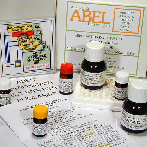 Antioxidant Test Kits with Special Pholasin - Microplate