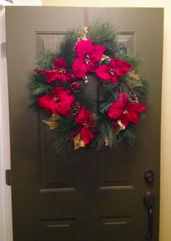 120 Christmas Wreath Hanger