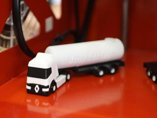 Oplegger voor Renault truck