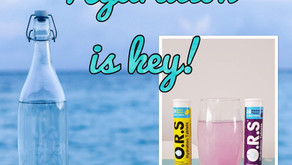 Dehydration, How to stay hydrated with an Ileostomy Stoma, JPouch or short bowel!
