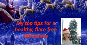 Surviving Christmas and the New Year! Top Tips To Avoid a Flare!!