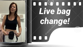 Bag Change LIVE! - Living Daily With An Ileostomy Stoma...