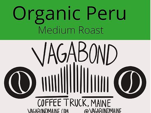 Organic Peru Medium Roast 12oz