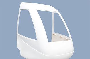 Front fairing - rail vehicle