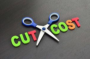Schneiden und Kosten