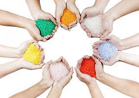 Pigmente bunt
