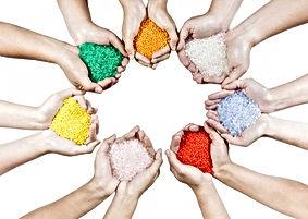 Pigments colourful