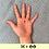 Thumbnail: DON 5€ + 2 BADGES - diamètre 25mm / PIN BADGE x2 - diameter 0,98 in