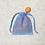 Thumbnail: smallbags voile de coton pastel  - 3 couleurs 2 tailles / pastel veil bags