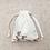 Thumbnail: small bag unique imprimé fleurs / flowers printed fabric