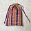 Thumbnail: sac en wax africain / unique african coton wax beach bag