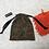 Thumbnail: small bag unique en lainage / unique bag woolen fabric