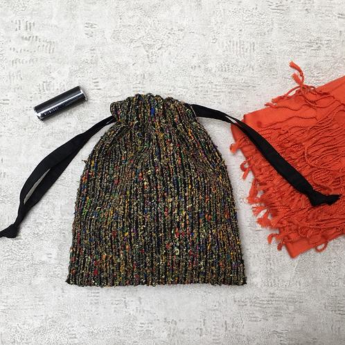 small bag unique en lainage / unique bag woolen fabric