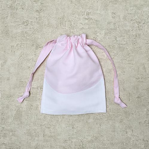 smallbag drap de coton brodé recyclé / recycled cotton sheet