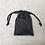 Thumbnail: smallbags en denim noir / black denim bags