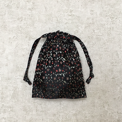 smallbags tissu chinois noir  / black chinese fabric bags