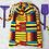 Thumbnail: sac de plage unique motifs africains / unique laundry or beach bag