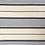 Thumbnail: smallbag unique ivoire rayé  / unique coton striped bag