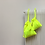 Thumbnail: smallbags toile jaune fluo  - 2 tailles / fluo yellow fabric bags - 2 sizes