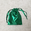 Thumbnail: smallbags voile vert - 2 tailles   / green veil bags - 2 sizes