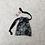 Thumbnail: sac sexy imprimé dentelle noire - 2 tailles / printed lace toys bag - 2 sizes