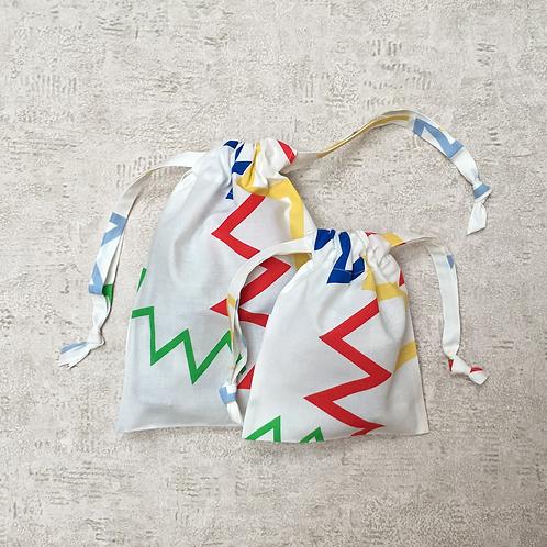 smallbags drap de coton - 2 tailles / coton sheet bags - 2 size