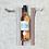 Thumbnail: sac à bouteille en toile à matelas rayée - coton / bottle bag in mattress cover