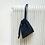 Thumbnail: smallbag unique en lainage bleu / unique bag woolen fabric