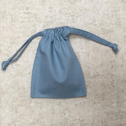smallbags denim bleu clair - 2 tailles / light blue denim bags - 2 sizes