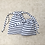 Thumbnail: smallbags rayures - 2 tailles 2 couleurs / cotton fabric bags - 2 sizes 2 colors