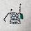 Thumbnail: kit 2 smallbags toile épaisse imprimée /  kit 2 printed fabric bags