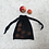 Thumbnail: smallbags en filet noir - 2 tailles / black net bags - 2 sizes