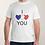 """Thumbnail: t shirt homme """"je t'aime"""""""