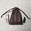 Thumbnail: smallbag unique soie tons gris / unique silk bag