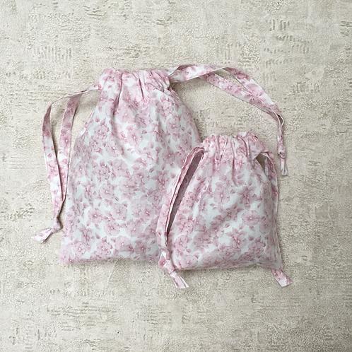 smallbags coton imprimés - 2 tailles / printed cotton bags - 2
