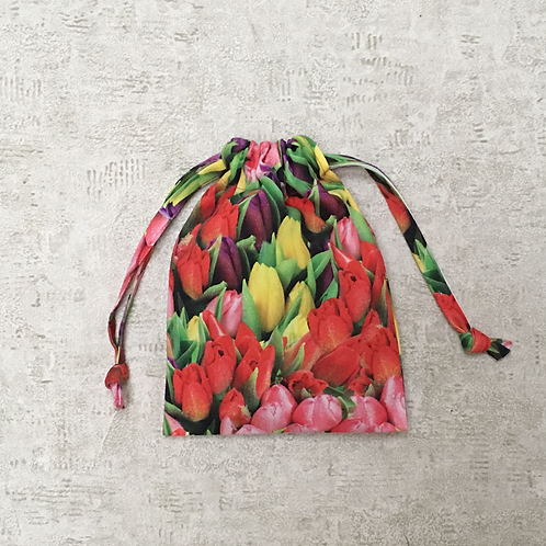 smallbags imprimé photo tulipe / tulips photo print bags